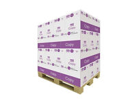 value pallet of 40 boxes A4 80gsm paper perfect for everyday