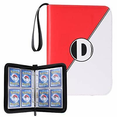 Carrying Case Binder Compatible with Pokemon Card Holds Up to 400 New