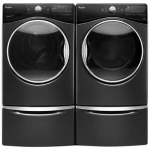 Whirlpool WFW92HEFBD 5.2 Cu Ft. Stainless Steel Drum Adaptive Wash System Washer12 Cycles, 1200 RPM, , Heater, Steam