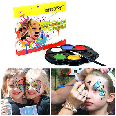 Unique Halloween Dress Up Party Pigment Body Painting Kit Face Makeup - Halloween Face Painting Supplies