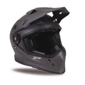 NEW-Progrip PG3185/18 Emotion Helmet For Off Road & On Road Motorcycle Riding B