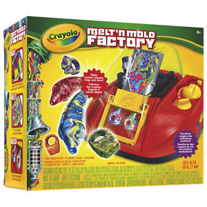 NEW: Crayola Melt'n Mold Factory with Bling Rings & Cruisers Ref