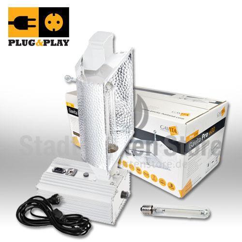 600 W Watt Vorschaltgerät HortiGear Natrium-dampf-lampe Plug /& Play NDL Grow