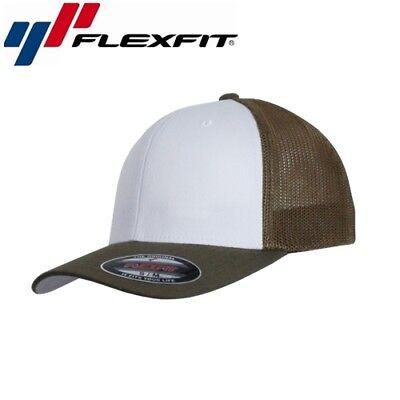Flexfit Mesh Trucker Trucker Cap L/XL Buck Weiß Buck Cap