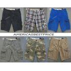 Hollister Cargo Solid Shorts for Men