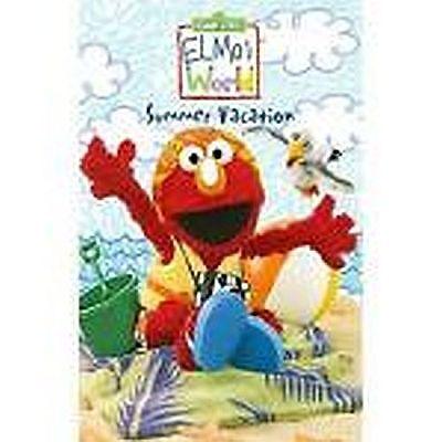 Elmos World   Summer Vacation   Sesame Street Dvd Video Childrens Movie Kids