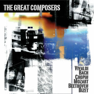 The Great Composers (Brand New Double Classical Compilation CD) C