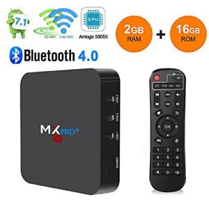 Media Box MXQ Pro + Tv Movies Sports Xbmc/Kodi 17.6 Android