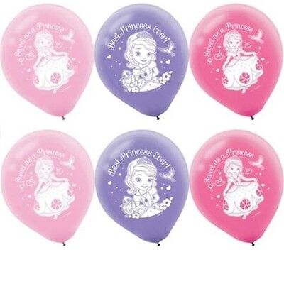 (6ct) Disney Sofia the First Birthday 12