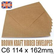 C6 Kraft Envelopes
