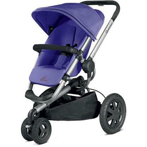 Quinny CV268CKU - Buzz Xtra Stroller - Purple Pace