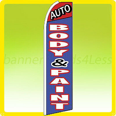 Buy cheap Feather Flutter Swooper Banner Sign 11.5' Flag - AUTO BODY & PAINT products