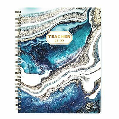 Teacher Planner 2021-2022 Weekly Monthly Lesson Planner July 2021 - June 2022