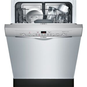 Bosch Stainless Dishwashers SHE3AR75UC in Calgary, only $690.00!