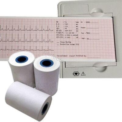 2x Thermal Printer Paper For Ecg Ekg Machine Electrocardiograph 80mmx20m Us