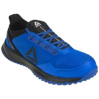- Reebok Shoes: Men's Blue Steel Toe RB4091 All Terrain ESD Athletic Work Shoes