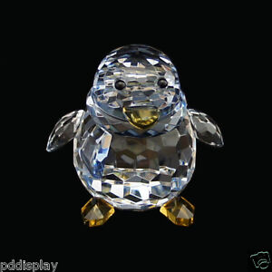 Penguin Blue Austrian crystal figurine ornament