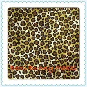 Leopard Print Cotton Fabric
