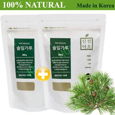 100% Natural Pine Needle Powder 300g + 300g Medicinal Korean Herbal Powder