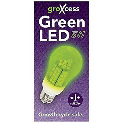 GroXcess Green LED, 5w Light Bulb