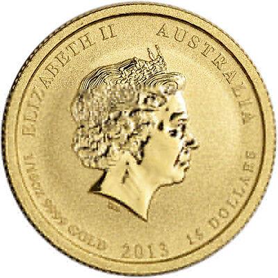 1/10 oz U.S. Australian WWII Gold Coin (BU)