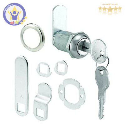 """14 Cam Locks Cabinet Drawer Tool Box RV Panel 7//8/"""" Keyed Alike High Quality USA"""
