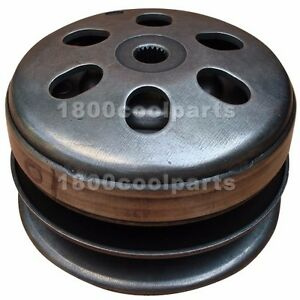 Rear Clutch Pulley Driven Wheel Assembly for GY6 150cc Scooters, Go Karts, ATVs