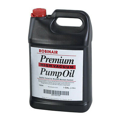 Robinair 13204 One Gallon Premium Vacuum Pump Oil