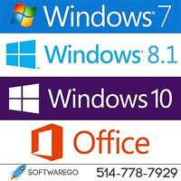 Licence Windows, Office & Service pour PC