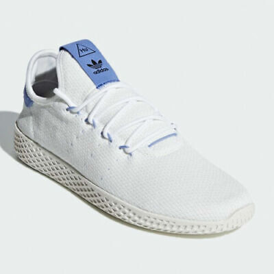 Adidas Pharrell Williams Originals HU White & Lilac trainers BD7521 Size: 12UK