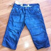 Mens Denim Shorts 36