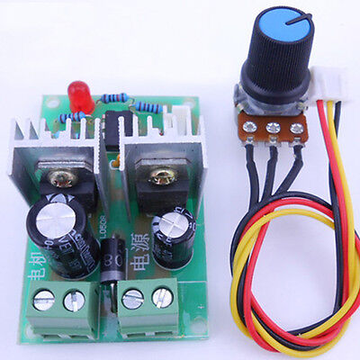 Dc 12v 24v 36v Pwm Speed Regulator Switch Controller Motor Control Driver 200w