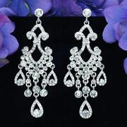 Crystal Rhinestone Earrings