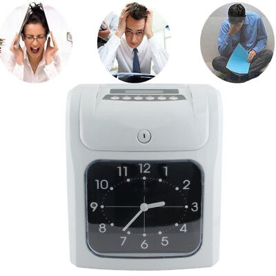 Safety Use Electronic Employee Time Clock Recorder For Small Business Offices