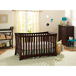 Crib mattress and changing table set