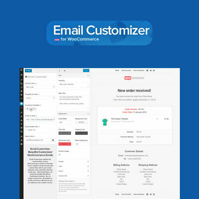 Email Customizer For Woocommerce - Wordpress Plugins And Themes