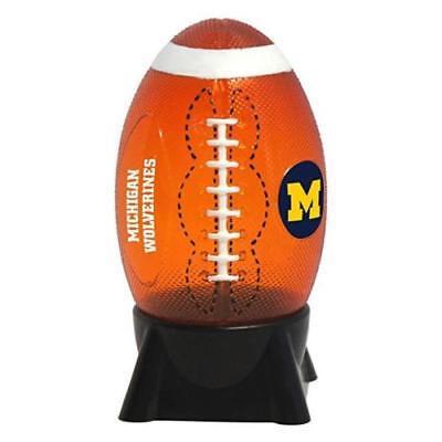 MICHIGAN WOLVERINES NCAA Football Style Night Light Boelter Brand New in Box Michigan Wolverines Brown Football