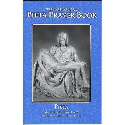Pieta Prayer Book   Contains St Bridget 15 Prayers Most Popular Devotional  Blue