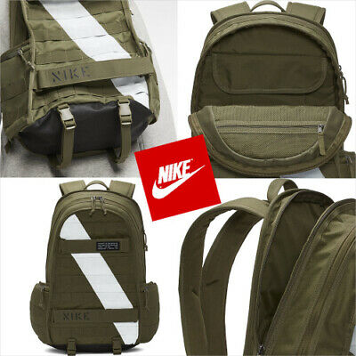 UNIQUE 😊🔥 Nike SB RPM Military Skateboard Backpack Green Solid BA6436-222