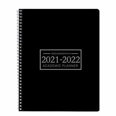 Academic Planner 2021-2022 Monthly Calendar 911 School Office Time Management