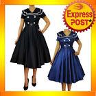 Sailor Polyester Dresses for Women