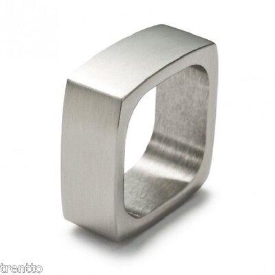 Anillo de acero monomania talla 10 size new steel ring 25250 boda...