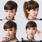 Headband Bangs Straight Hair Extensions