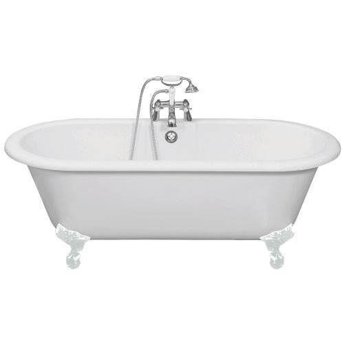 Free standing roll top bath ebay for What is the best bathtub