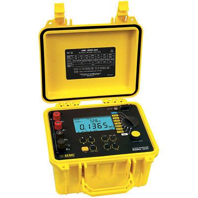 Aemc 6255 2129.84 Micro-ohmmeter 10a