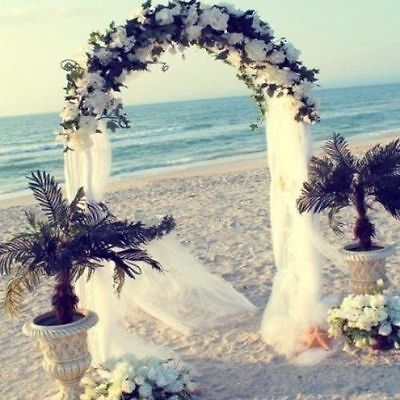 Wedding Archway Decoration Arch Outdoor Party Garden  Flowers Plants Metal