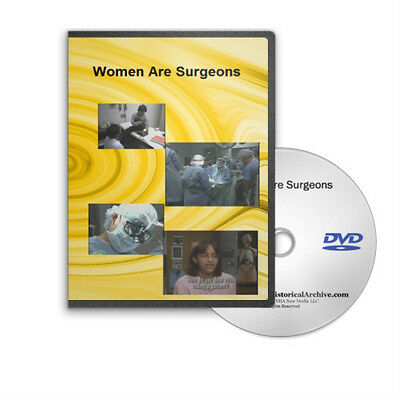 Women Are Surgeons Surgery Career Opportunities DVD C71