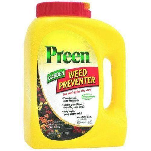 Preen weed preventer ebay for How to use preen in vegetable garden