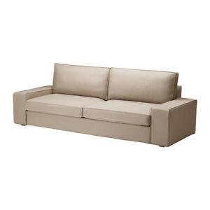 IKEA Cover KIVIK Sofa Bed Slipcover for KIVIK Sofabed Sleeper Dansbo Beige NEW