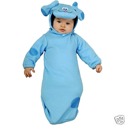 Blue Clues Costume (Blue's Clues Dog Infant Bunting Child Costume -)